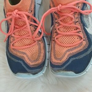 Nike Shoes - Nike Free 5.0 Flyknit running shoes size 7.5